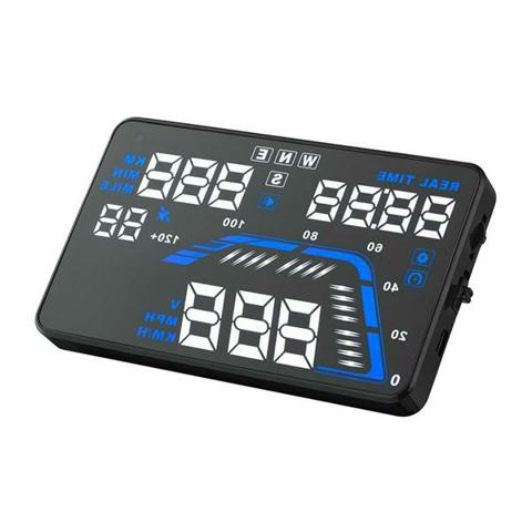 THIẾT BỊ HIỂN THỊ TỐC ĐỘ LÊN KÍNH LÁI HUD-Q7-GPS