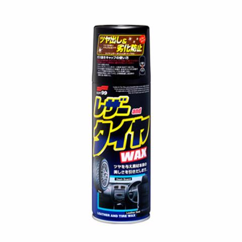 LEATHER & TIRE WAX - CHAI XỊT 3 TRONG 1 L-29
